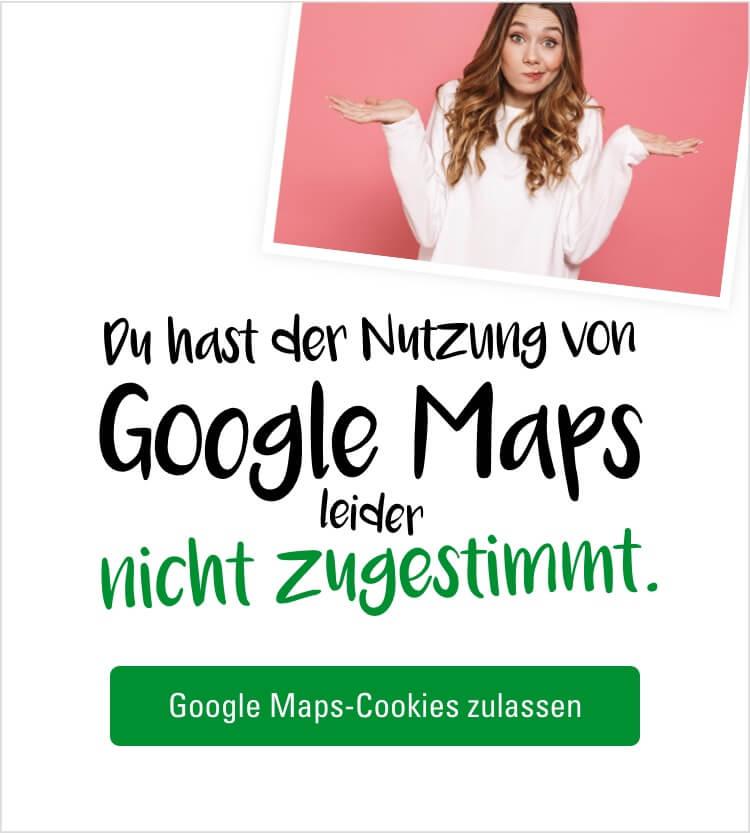 Google Maps zustimmen